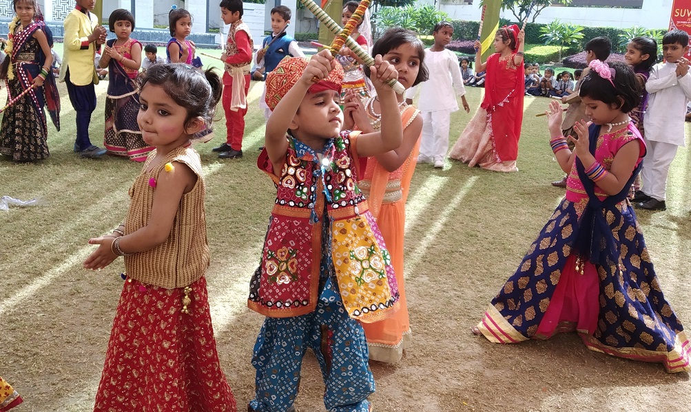 Dandiya Fest For Pre Primary Kids